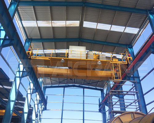 Overhead Crane Installation In Chile