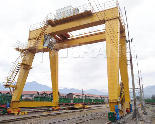 Gantry Crane in Chile