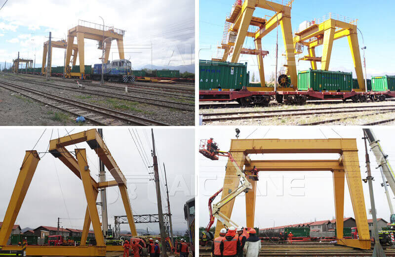 Gantry Crane Installation in Chile
