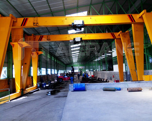 2 Sets 10 Ton Gantry Cranes in Ethiopia