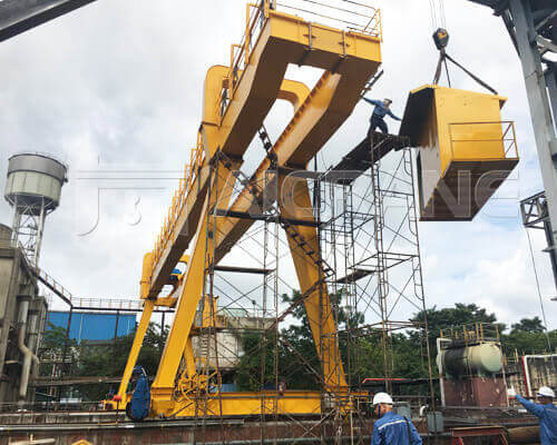 5 Ton Double Girder Gantry Crane in Thailand