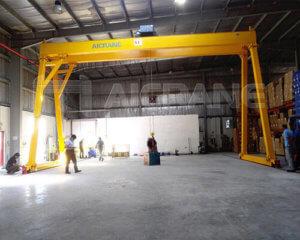 DDouble Girder Gantry Crane For Warehouse