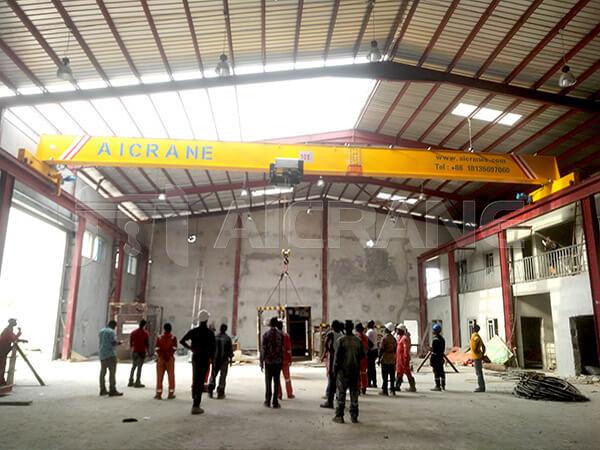 Overhead Crane Installation in Nigeria