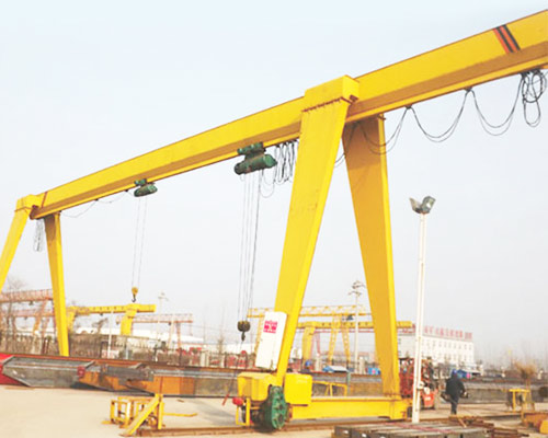 Single Girder Gantry Crane With One Cantilever