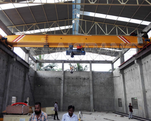 Single Girder Overhead Traveling Crane Manufacturer