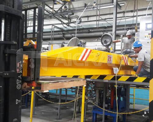 2 Ton Under Running Crane Installation for Honduras Client