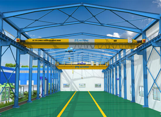 Single Girder Overhead Crane Design