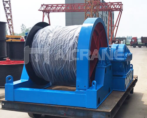 20 Ton Slow Speed Winch