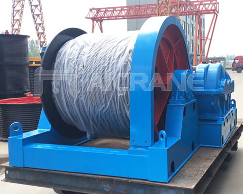 Electric Wire Rope Winch for Sale