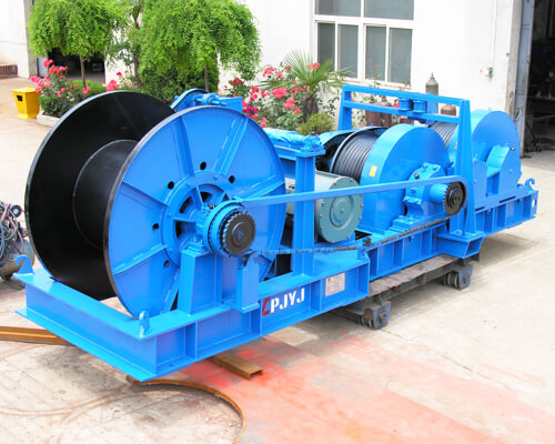 Friction Type Electric Rope Winch