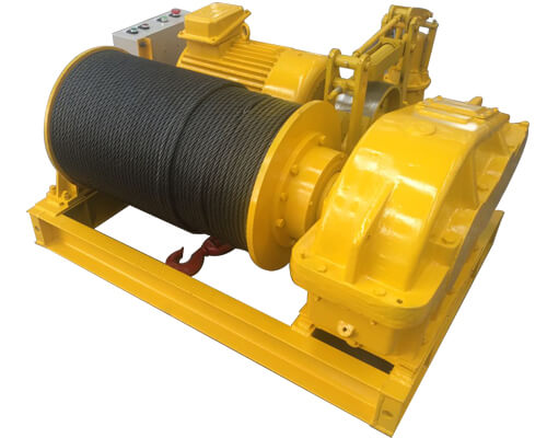 High Speed Rope Winch for Sale