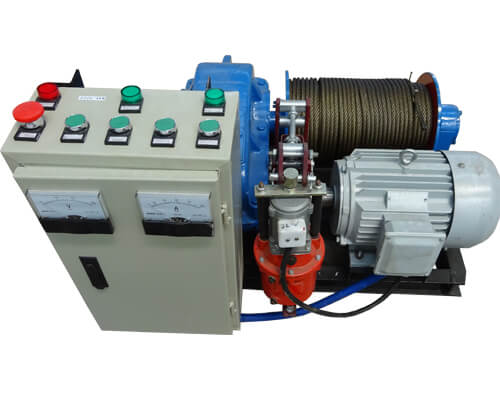 Slow-speed Electric Winch for Sale