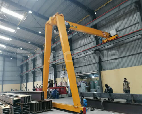 BMH Semi Gantry Crane Installation