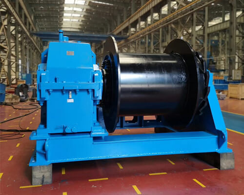 Marine Electric Towing Winch