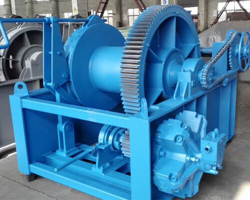 Hydraulic Towing Winch Cost