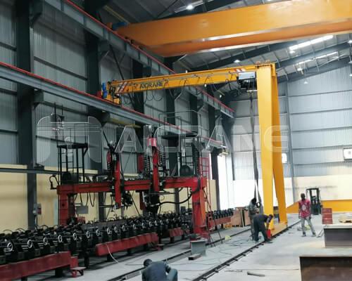 Overhead Gantry Crane Installation