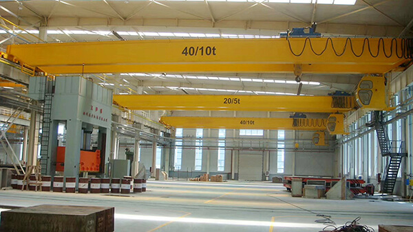 AQ-NLH European Type 40 Ton Bridge Crane Price