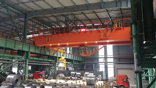 AQ-QD Double Girder 40 Ton Overhead Crane for Sale