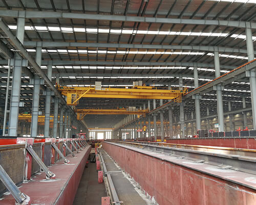 AQ-QD Indoor Double Girder Overhead Crane for Sale