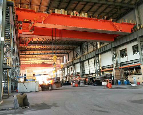 AQ-YZ 100 Ton Crane for Steel Mills