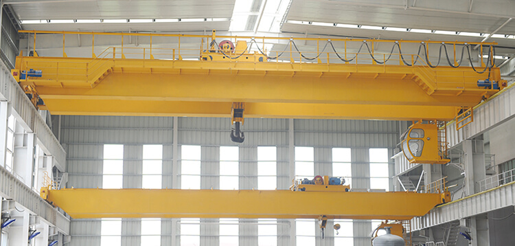 European Standard Double Girder Bridge Crane for Sale