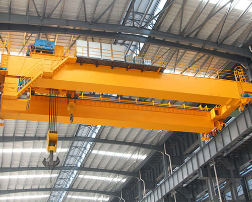 European Type Double Girder Overhead Crane Manufacturer