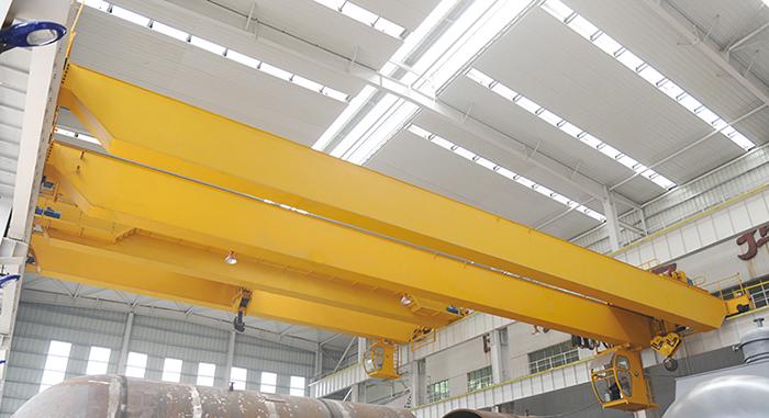 European Type Overhead Crane in Workshop