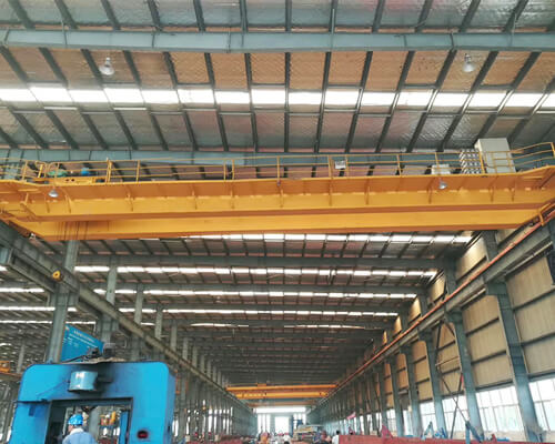 Double Girder Overhead Crane With Remote Control