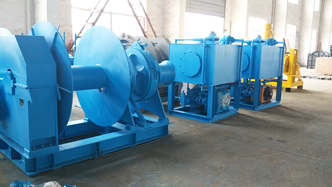 Anchor Winch And Hydraulic Pump Station
