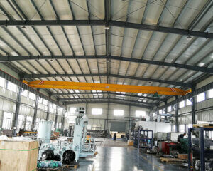 Light Duty Single Girder Overhead Crane For Sale
