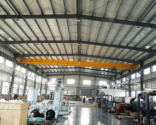Light Duty Single Girder Overhead Crane For Sale