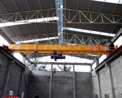 Single Girder 15 Ton Overhead Crane for Sale