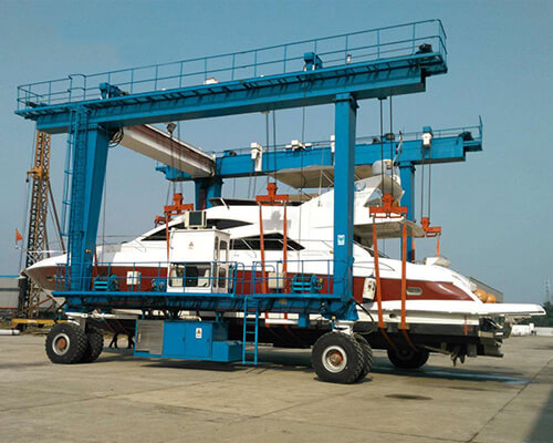 150 Ton Travel Lift for Boat