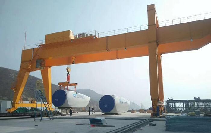 European Standard 100 Ton Gantry Crane for Sale