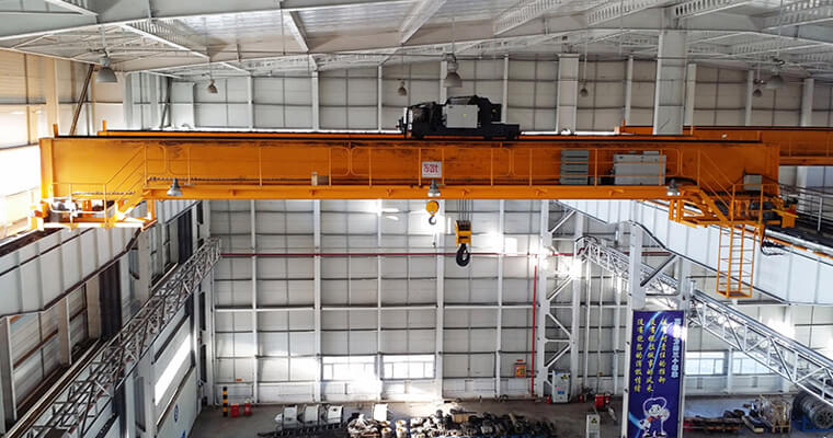 European Electric Hoist Overhead Crane 75t