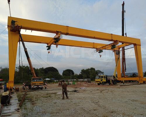 U-shaped Gantry Crane 40t Manufacturer