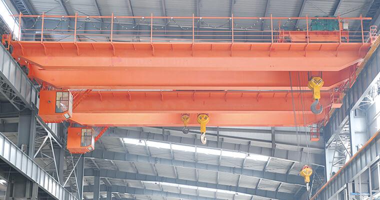 Double Girder 75 Ton Overhead Crane Manufacturer