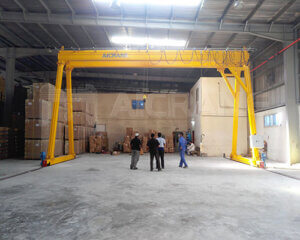 Double Girder Gantry Crane 5 Ton Manufacturer