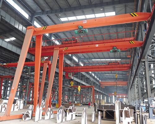 5t Semi Gantry Crane for Sale