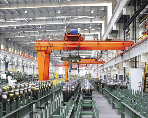 Semi Gantry Crane for Industries