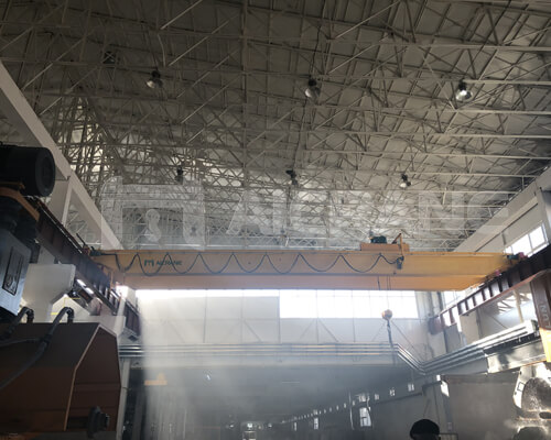 AQ-LH Electric Hoist Double Girder Crane Manufacturer