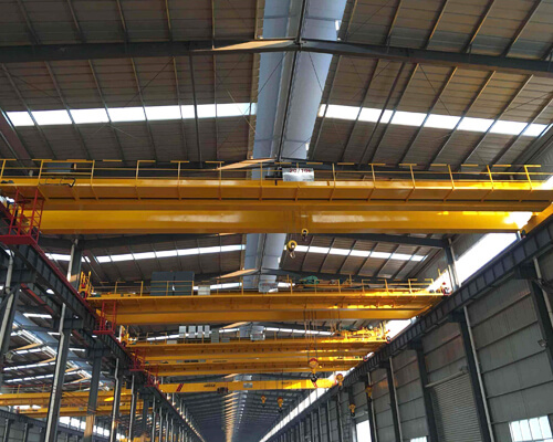 European Hoist Double Girder Bridge Crane Supplier