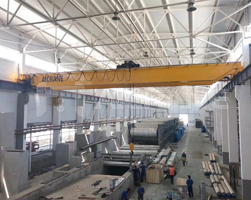AQ-NLH European Hoist Double Girder Crane Supplier