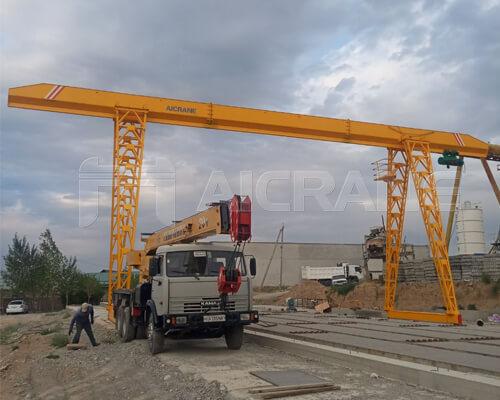 Single Girder Gantry Crane for Sale Australia
