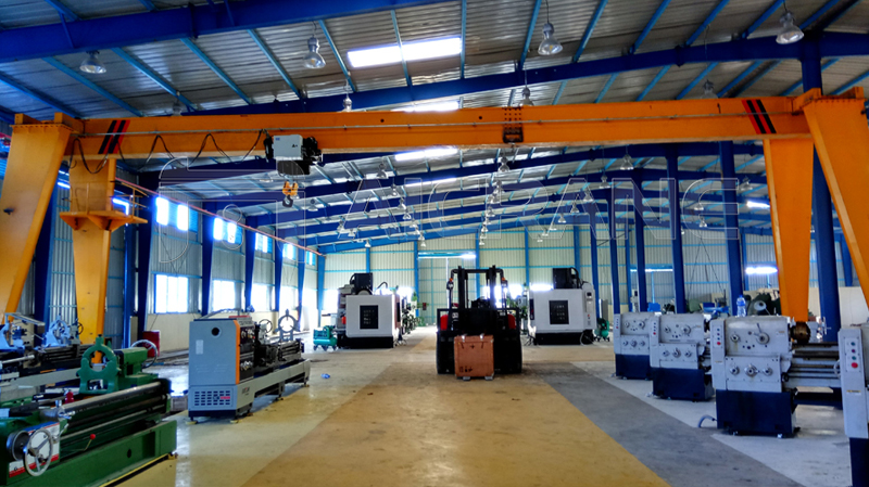 10 Tons Gantry Crane In Workshop
