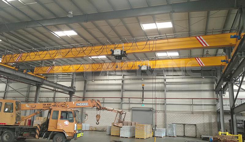 European Standard 5 Ton Overhead Bridge Crane Price