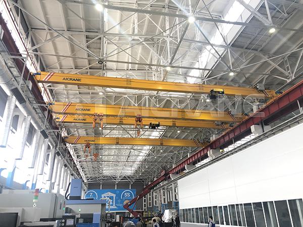 HD 10T, 16T Overhead Cranes Installation