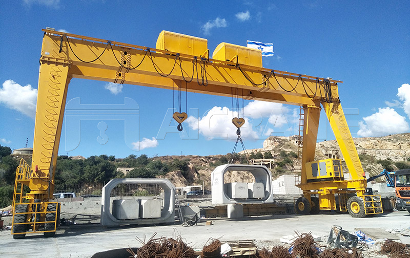Gantry Crane for Bridge Construction