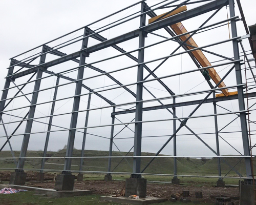 Industrial Steel Structure Design