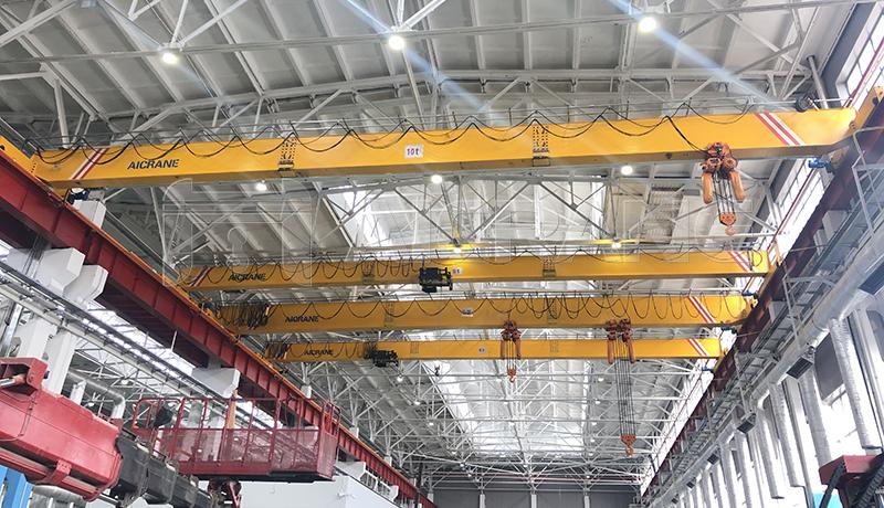 Single Girder EOT Crane Manufacturers